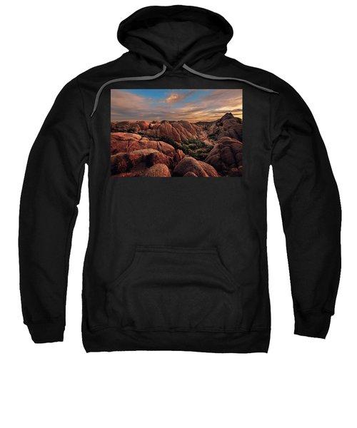 Rocks At Sunrise Sweatshirt