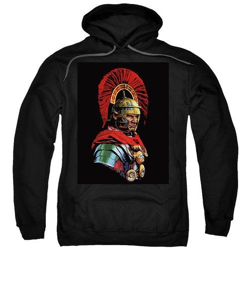 Roman Centurion Portrait Sweatshirt