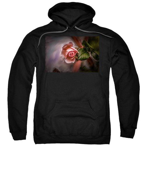 Rose On Paint #g5 Sweatshirt