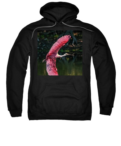 Roseate Spoonbill Sweatshirt