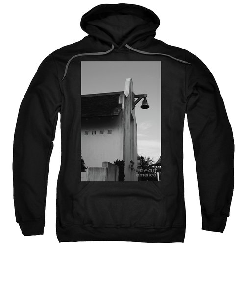 Rosemary Beach Post Office In Black And White Sweatshirt
