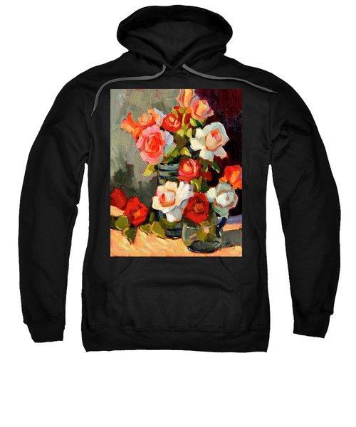 Roses From My Garden Sweatshirt