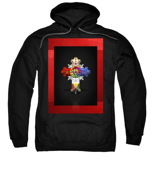 Rosy Cross - Rose Croix  Sweatshirt