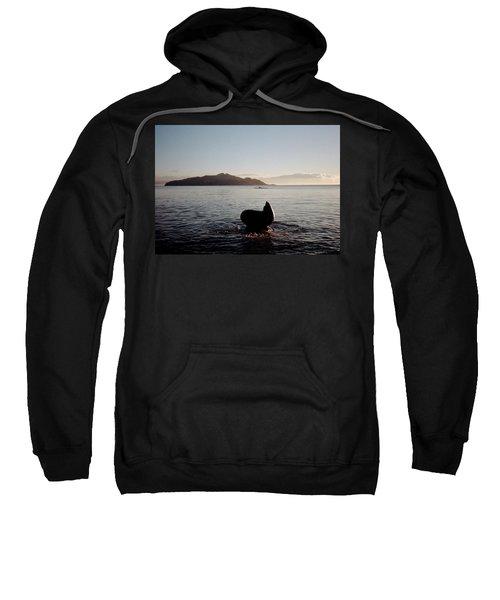 Rowing Off Sausalito, Ca Sweatshirt
