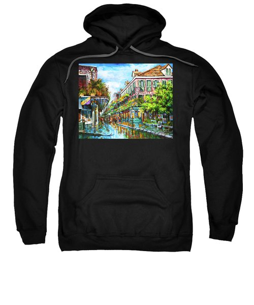 Royal At Pere Antoine Alley, New Orleans French Quarter Sweatshirt
