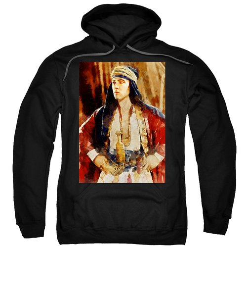 Rudolph Valentino As The Sheikh Sweatshirt