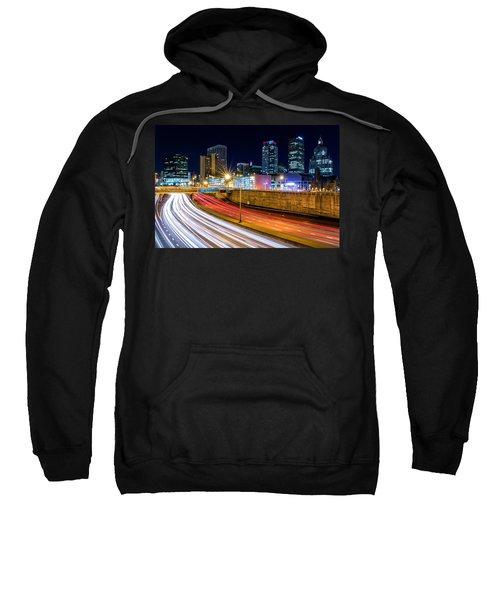 Rush Hour In Hartford, Ct Sweatshirt