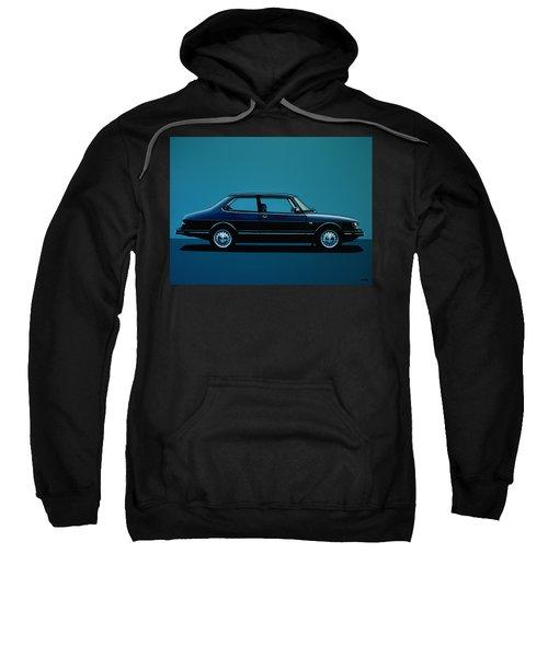 Saab 90 1985 Painting Sweatshirt
