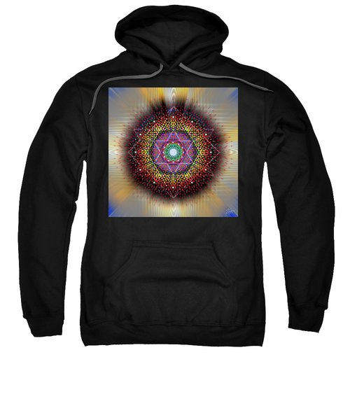 Sacred Geometry 657 Sweatshirt
