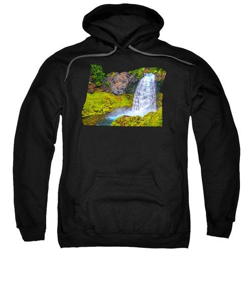 Sahalie Falls Oregon Sweatshirt
