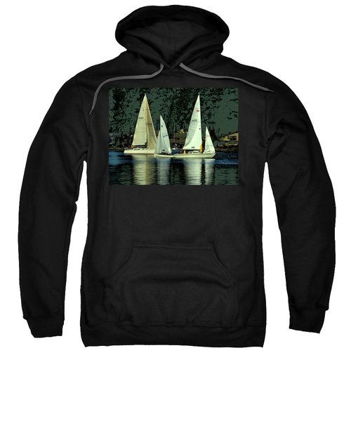 Sailing The Harbor Sweatshirt
