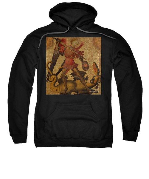 Saint Michael And The Dragon Sweatshirt