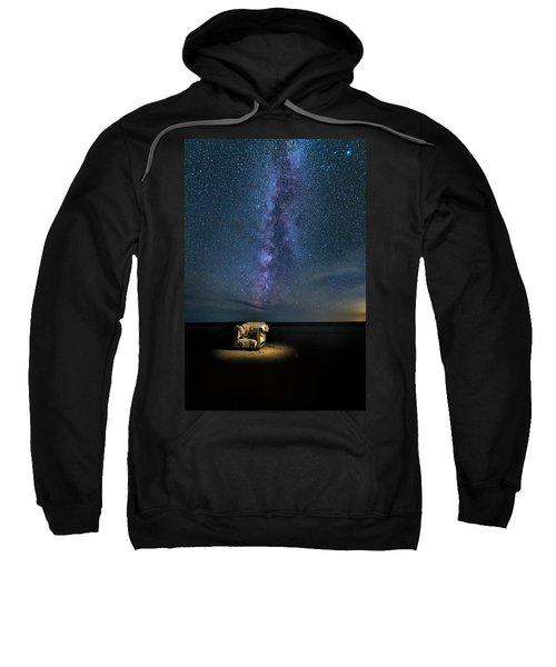 Salt Flats Milky Way Chair Sweatshirt