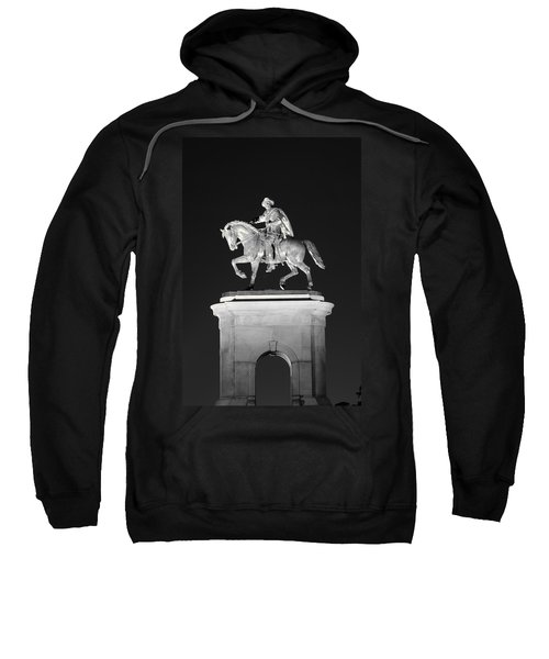 Sam Houston - Black And White Sweatshirt
