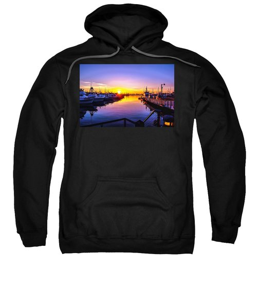 San Diego Harbor Sunrise Sweatshirt