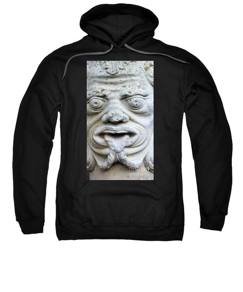Sandstone Sculpture At The Main Entrance Of The Corvey Monastery Sweatshirt