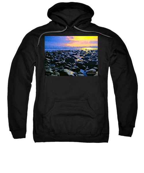 Santa Barbara Beach Sunset California Sweatshirt
