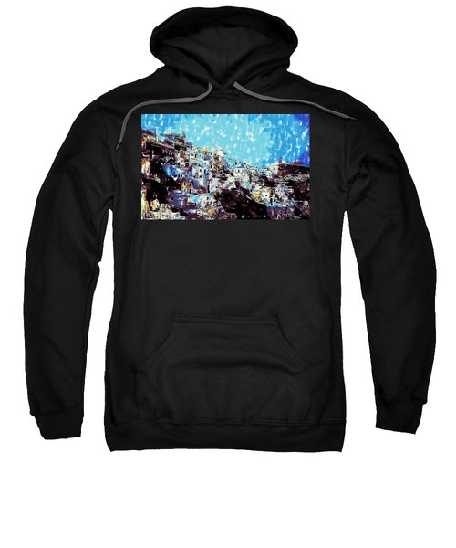 Santorini Island Sweatshirt