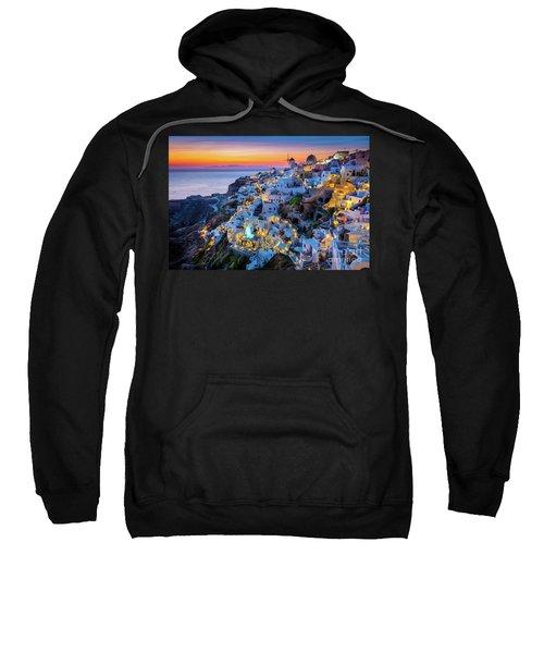 Santorini Sunset Sweatshirt