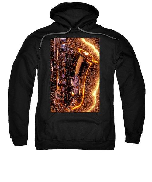Sax With Sparks Sweatshirt