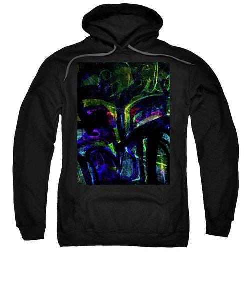 Scary Face-1 Sweatshirt