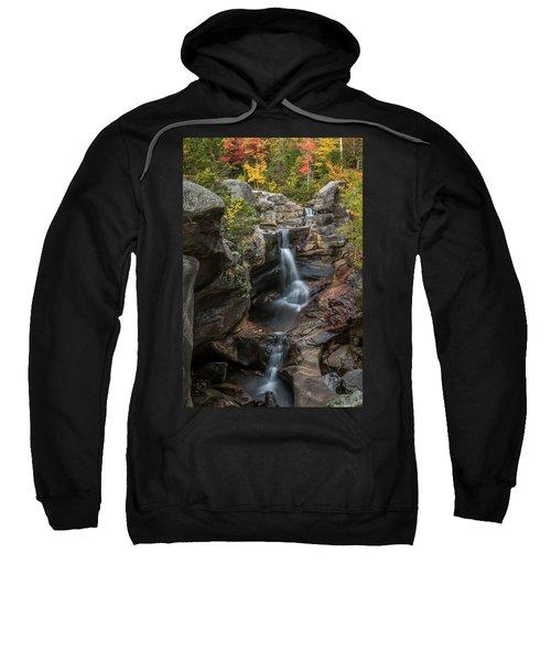 Screw Auger Falls In Autumn Sweatshirt