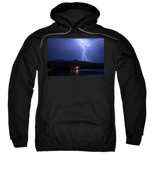 Sweatshirt featuring the photograph Scribble In The Night by James BO Insogna