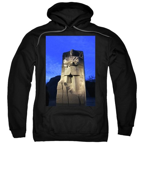 Sculptured Profile Martin Luther King Jr. Sweatshirt