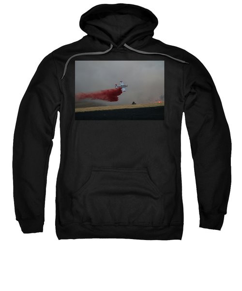Seat Drops On Indian Canyon Fire Sweatshirt