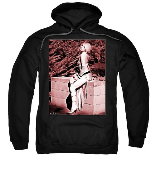 Seated Slave Girl Sweatshirt