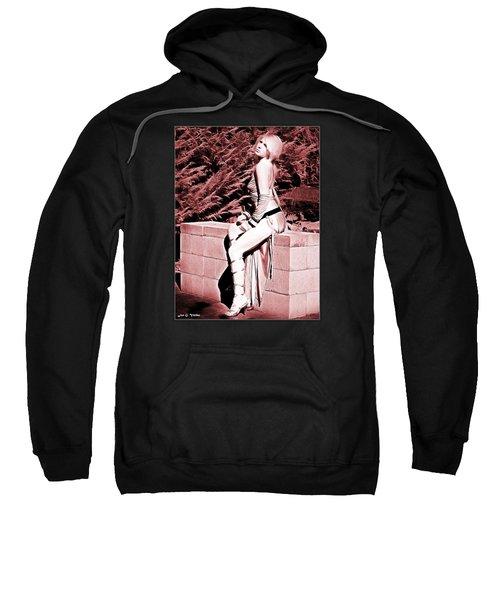 Seated Slave Girl Sweatshirt