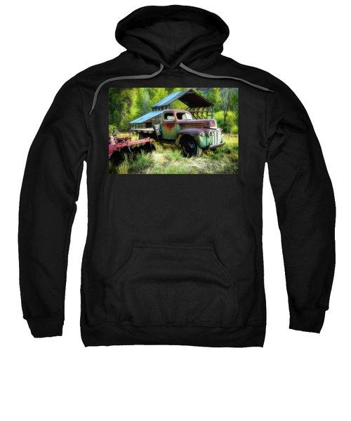 Seen Better Days - Ford Farm Truck Sweatshirt