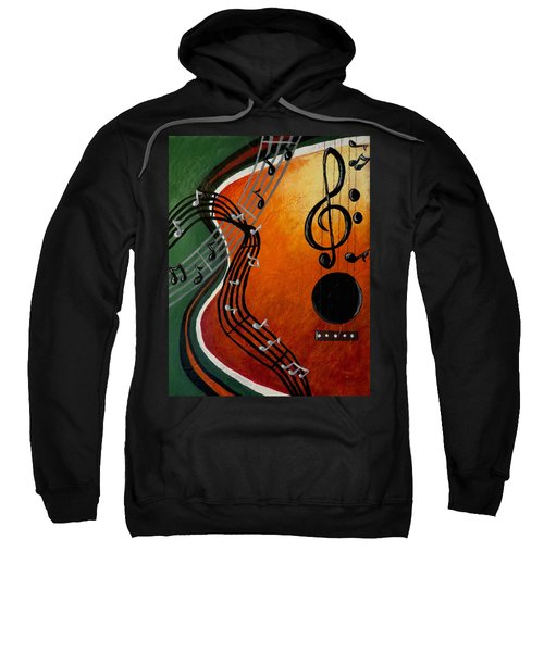 Serenade Sweatshirt by Teresa Wing