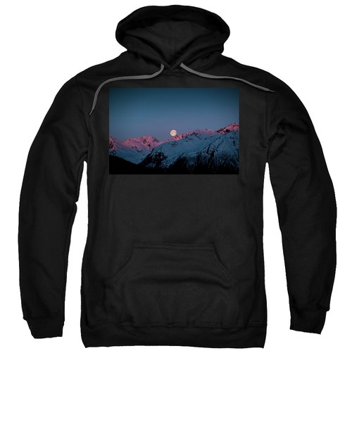 Setting Moon Over Peaks IIi Sweatshirt