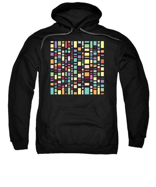 Seventeen Pattern Dark Sweatshirt