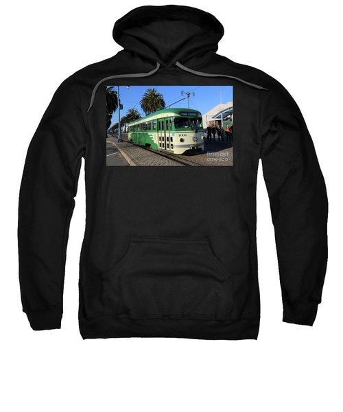 Sf Muni Railway Trolley Number 1006 Sweatshirt