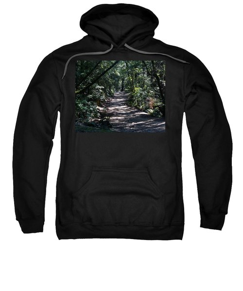 Shady Road On Mt Tamalpais Sweatshirt