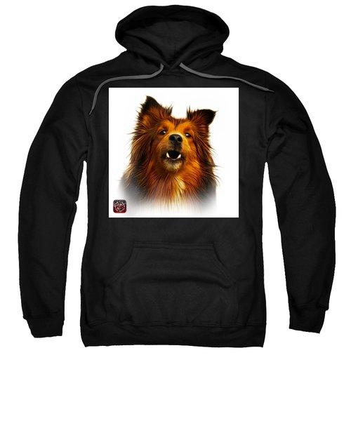 Sheltie Dog Art 0207 - Wb Sweatshirt