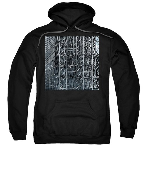 Shiny Steel Construction Sweatshirt