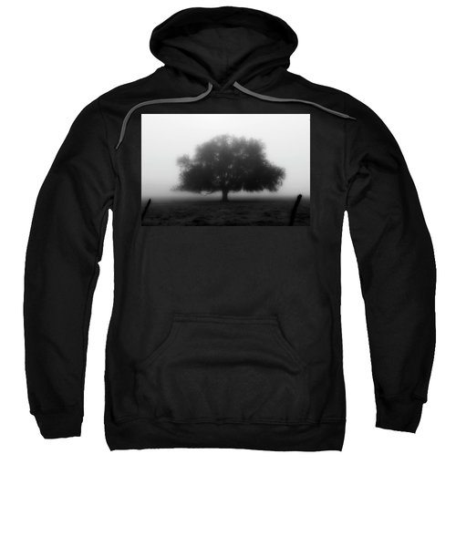 Silhouette Of Tree In Field Sweatshirt