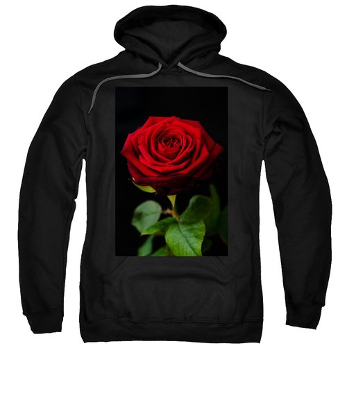 Single Rose Sweatshirt