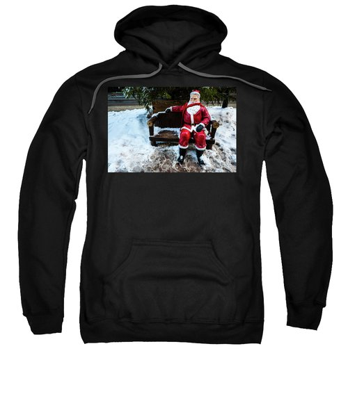 Sit With Santa Sweatshirt