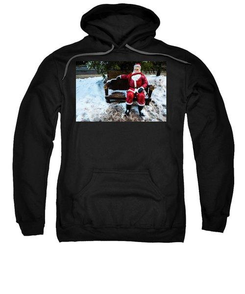 Sit With Santa Sweatshirt