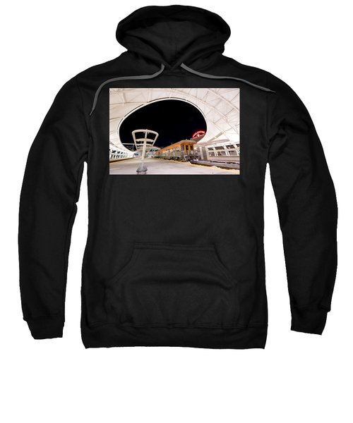 Sweatshirt featuring the photograph Ski Train by Stephen Holst