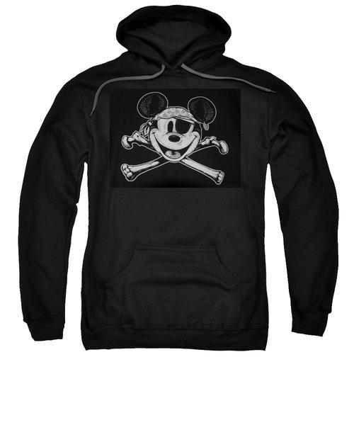 Skull And Bones Mickey  Sweatshirt