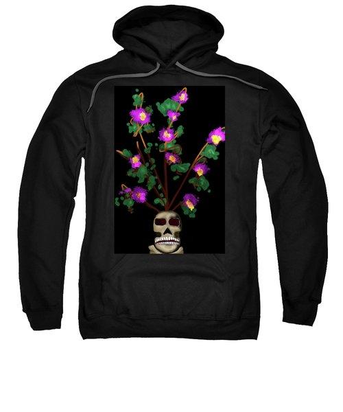 Skull Vase Sweatshirt