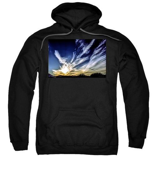 Sky Artistry Over Chandler Arizona Sweatshirt