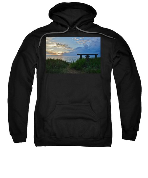 Small World Sunrise   Sweatshirt