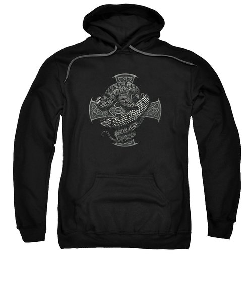 Snake Cross T-shirt Sweatshirt