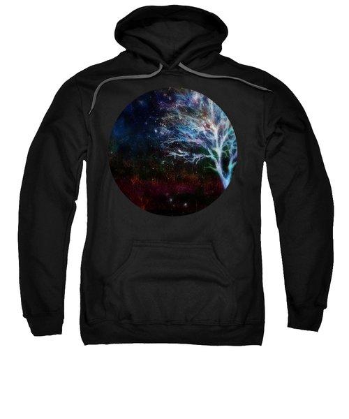 Snow At Twilight Sweatshirt